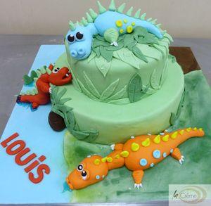Dinosaur birthday cake s