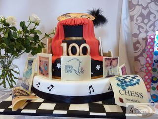 Neath amateurs 100th Anniversay Cake s