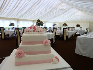 3 tier wedding cake for the oxwich bay hotel s