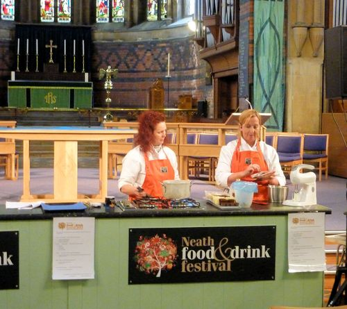 Sian Hindle Cookery Demonstration
