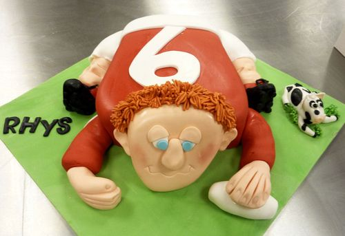 Welsh Rugby 30th Birthday Cake s