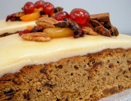 Cranbury,Pecan and Ginger Christmas Loaf