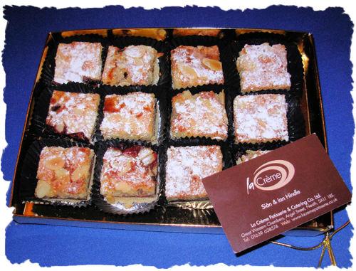 Black Cherry Frangipane Tarts