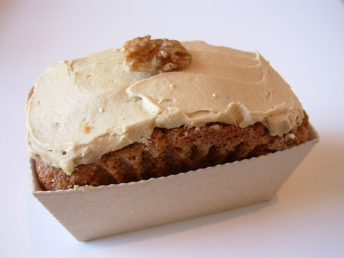 Coffee & Walnut Cake.