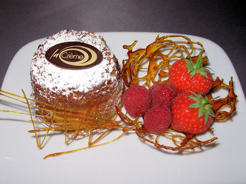 Penderyn Bread & Butter PuddingL