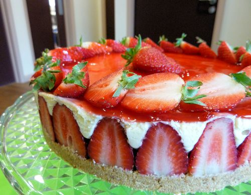 Strawberry Cheesecake3