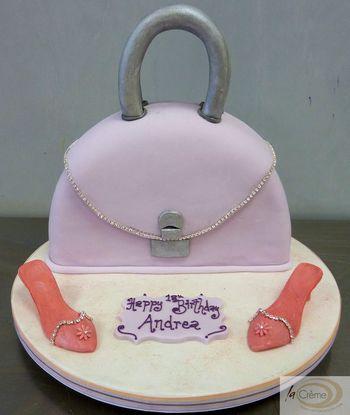 18th Birthday Cake Handbag Shoes
