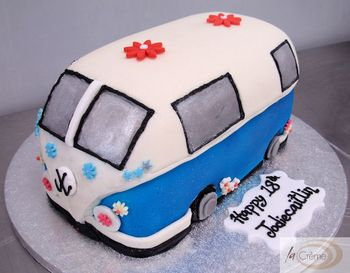 Camper Van 18th Brithday Cake