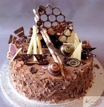 Chocolate Birthday Cake on Birthday Cakes  Chocolate Birthday Cake 2