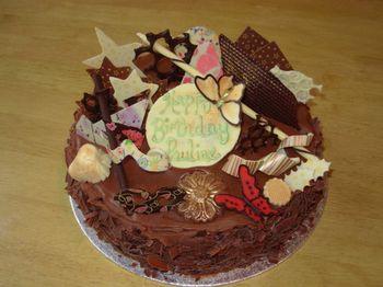 Birthday Cakes Happy Birthday Pauline
