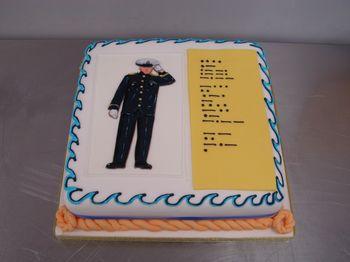 Morse Code Birthday Cake