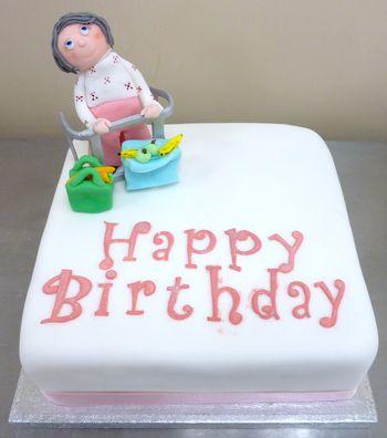 Granmother Birthday Cake
