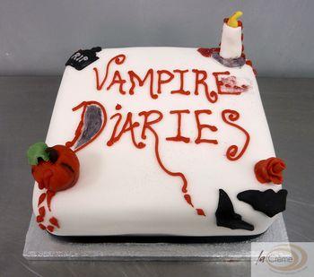 Groovy Birthday Cakes Vampires Diaries Cake2 Funny Birthday Cards Online Overcheapnameinfo