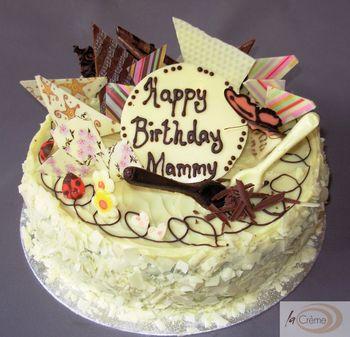 Birthday Cakes White Chocolate Birthday Cake L