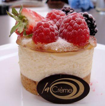 Passionfruit cheesecake 2