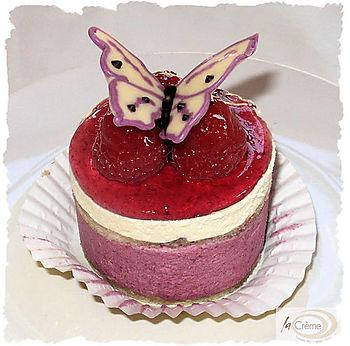 Raspberry Mousse Gateau