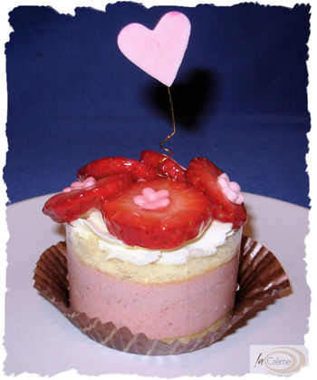Individual Strawberry Mousse