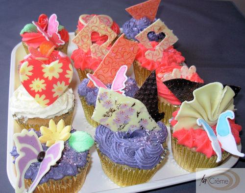 La Creme Cup cakes 1