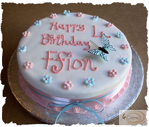 Maderia Cakes Happy 4th Birthday Cake