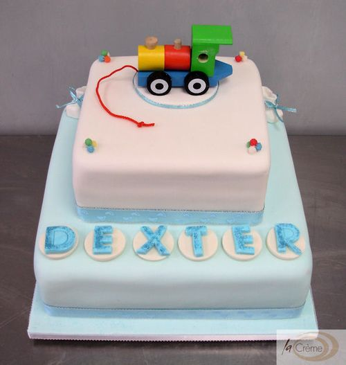 Dexters Christening Cake