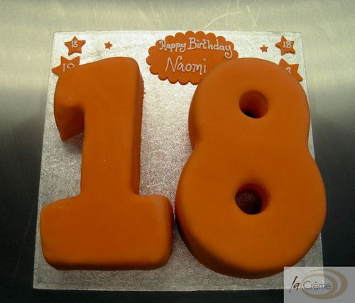 Happy 18th Birthday Cake
