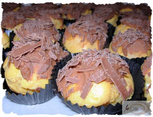 Chocolate Profiteroles patisserie