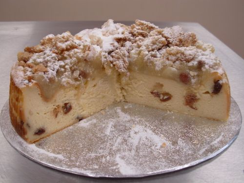 Baked Apple Crumble Cheesecake