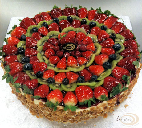 La Creme Fresh Fruit Gateau 2S