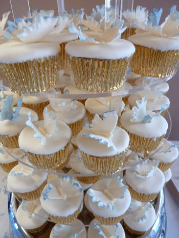 Butterfly cup cakes