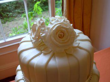 Cream Wedding roses